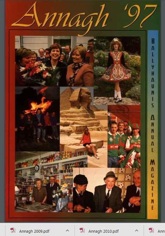 Annagh Magazine Ballyhaunis S Parish Annual Magazine